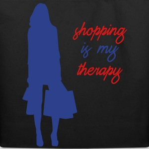 Shopping is My Therapy - Eco-Friendly Cotton Tote