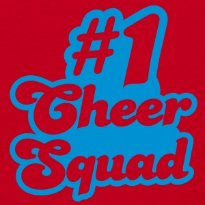 #1 cheer squad number one Zip Hoodies/Jackets - Women's V-Neck T-Shirt
