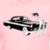 Sexy girl & hot car (dd print) Women's T-Shirts - Women's T-Shirt