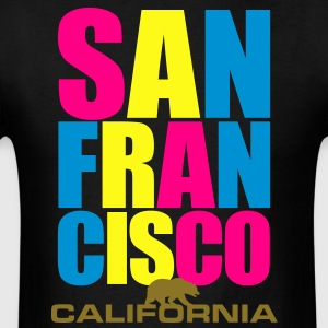San Francisco - Bay Area - California - Men's T-Shirt