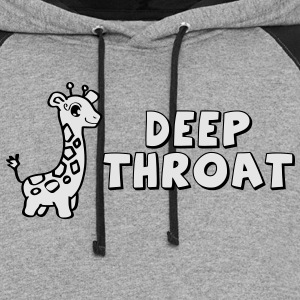 Deep Throat - Colorblock Hoodie