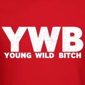 YOUNG WILD BITCH - Crewneck Sweatshirt
