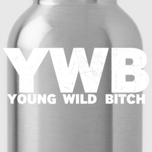 YOUNG WILD BITCH - Water Bottle