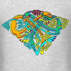 Celtic Illumination – Dog Knots - Men's T-Shirt