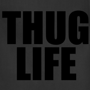 Thug Life Zip Hoodies/Jackets - stayflyclothing.com - Adjustable Apron