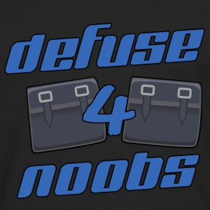 counter-strike defuse 4 noobs - Men's Premium Long Sleeve T-Shirt