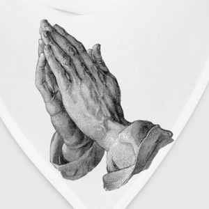 Albrecht Durer – Hands Praying - Bandana