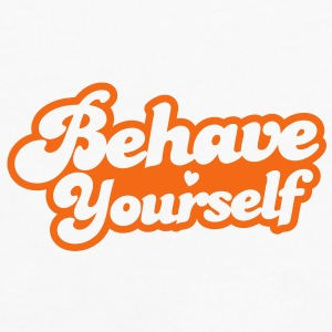 behave yourself Caps - Men's Premium Long Sleeve T-Shirt