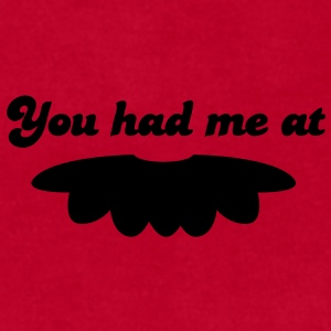 you had me at moustache mustache mustachio facial hair fun! Caps - Men's T-Shirt by American Apparel