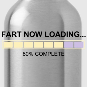 Fart Now Loading - Back Shirt - Water Bottle
