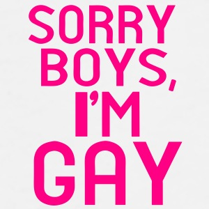 SORRY BOYS, I'M GAY - Men's Premium T-Shirt