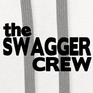 THE SWAGGER CREW - Contrast Hoodie
