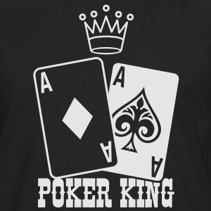 Poker - Poker King T-Shirts - Men's Premium Long Sleeve T-Shirt