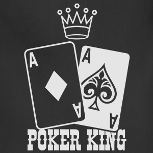 Poker - Poker King T-Shirts - Adjustable Apron
