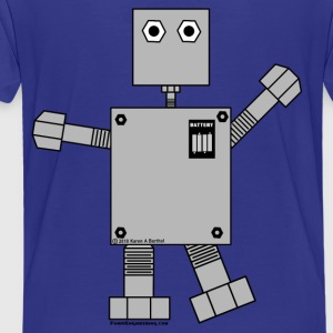 Robot Sweatshirts - Toddler Premium T-Shirt