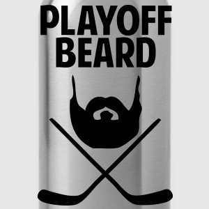 Hockey Playoff Beard T-Shirts - Water Bottle