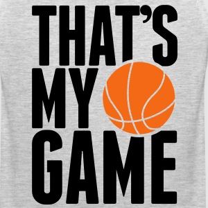 basketball - that's my game Long Sleeve Shirts - Men's Premium Tank