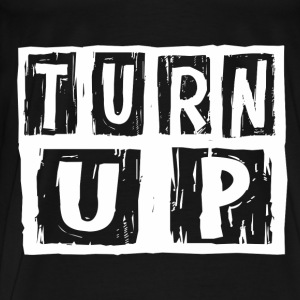 turn_up1 Long Sleeve Shirts - Men's Premium T-Shirt