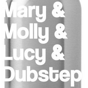 Mary and Molly and Lucy and Dubstep Hoodies - Water Bottle