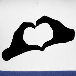 LOVE - Hands Heart - HEART - AMOUR - AMOR - HandHeart - Hands - Heart - SHIRT - Trucker Cap