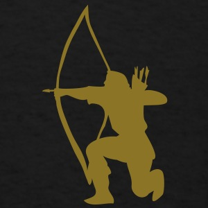 longbow english archer medieval symbol Bags  - Men's T-Shirt