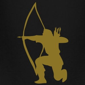 longbow english archer medieval symbol Bags  - Toddler Premium T-Shirt