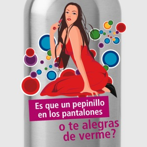 Spanish Funny Shirts - Water Bottle