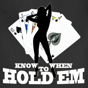 poker know when to hold em - Adjustable Apron