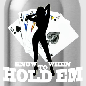 poker know when to hold em - Water Bottle