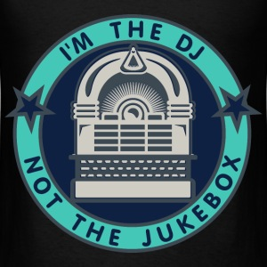 I'm the DJ - not the jukebox (5, DDP) Bags  - Men's T-Shirt