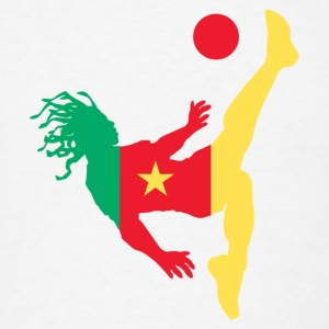 Soccer Cameroon - Men's T-Shirt
