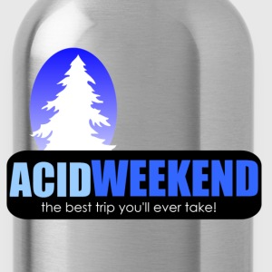 acid weekend ski trip lsd tripping party - Water Bottle