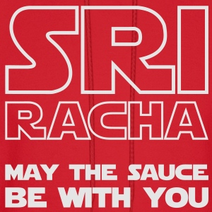 Sriracha May The Sauce Be With You / Glow in the Dark T-Shirts - Men's Hoodie