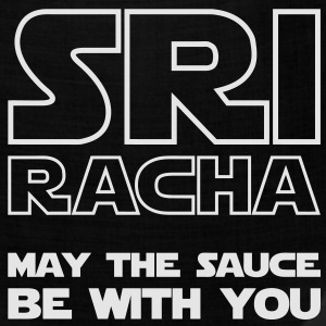 Sriracha May The Sauce Be With You / Glow in the Dark T-Shirts - Bandana