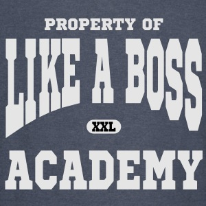 Property of Like A Boss Academy Hoodies - Vintage Sport T-Shirt
