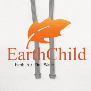 earth child air fire water pagan wiccan witchcraft - Contrast Hoodie