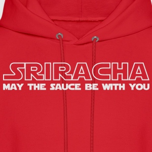 Sriracha May The Sauce Be With You Kids' Shirts - Men's Hoodie