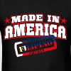 MADE IN AMERICA - Filipino PARTS - Men's T-Shirt