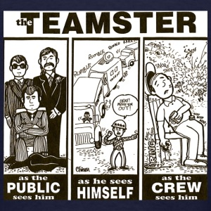 TEAMSTER (ZIPPER HOODIE) - Men's T-Shirt