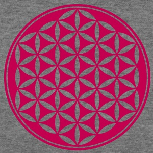 Flower of Life - Vector- Sacred Geometry, energy symbol, healing symbol,  T-Shirts - Women's Wideneck Sweatshirt