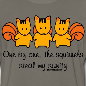 One by one the Squirrels - Men's Premium Long Sleeve T-Shirt