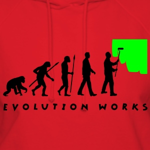 evolution_painter_042012_a_2c T-Shirts - Women's Hoodie