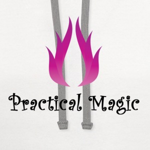 practical magic wiccan witchcraft pagan fire Shirt - Contrast Hoodie
