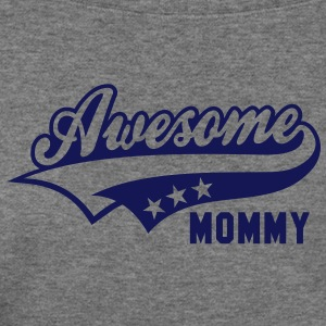 Awesome MOMMY T-Shirt PH - Women's Wideneck Sweatshirt