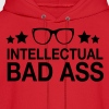 Intellectual Bad Ass Nerd Geek Hoodie - Men's Hoodie