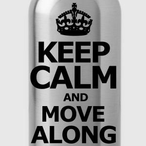 keep_calm_and_move_along Long Sleeve Shirts - Water Bottle