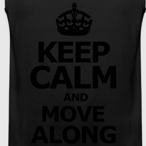 keep_calm_and_move_along Long Sleeve Shirts - Men's Premium Tank