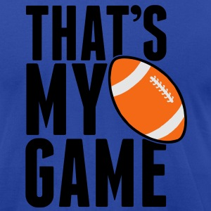 Rugby - that's my game Tanks - Men's T-Shirt by American Apparel