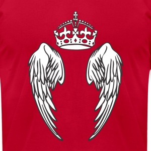 angel_king Hoodies - Men's T-Shirt by American Apparel