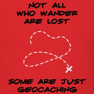 Geocaching Hoodie - Men's T-Shirt